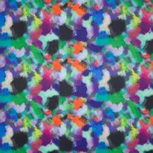 Rekbare polyester met abstracte vlekken