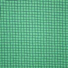 Groene Tricot met Ruiten