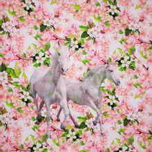Tricot Paarden Paneel