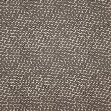 Beige rekbare polyester jacquard met grijze bollen