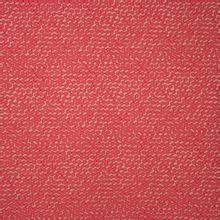 Huidskleurige rekbare polyester jacquard met koraalrode bollen