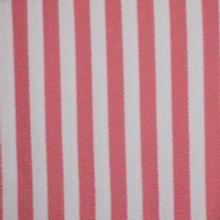 Roze en wit gestreepte badstof