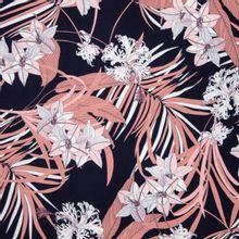 Donkere Viscose met Bloemen van Atelier Jupe