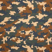Tricot met Camouflageprint van Miss Doodle