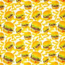 Tricot met Hamburgers en Frietjes