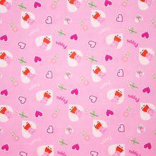 Roze Katoen Peppa Pig