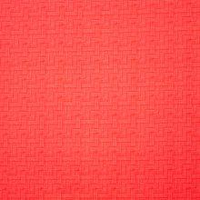 Rode Katoen met Licht Rode Print