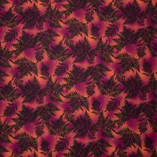 Gekleurde Katoen met Bladeren