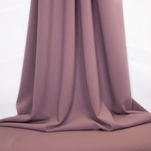 Paarse Polyester Rayon Stretch