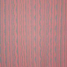 Jacquard tricot met roze en grijs abstract lijnenspel