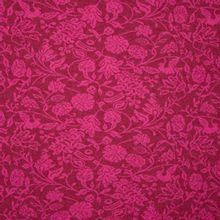 Roze / bordeaux breitje met bloemen