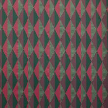 Polyester Tricot met Geometrisch Patroon