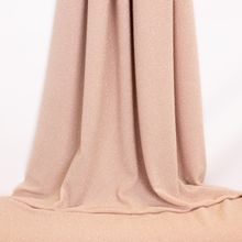 Roze Polyester Tricot met Glitter