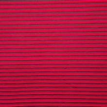 Zwart / rode plissé polyester van 'La Maison Victor'