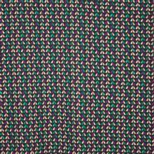 Rekbare polyestercrepe met abstracte bloemblaadjes