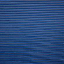 Zwart / blauwe plissé polyester van 'La Maison Victor'