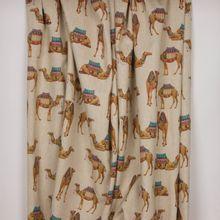 Canvas met kamelen