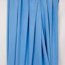 Katoen tricot blauw