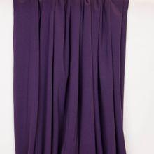 Katoen tricot paars