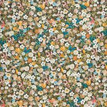 Katoen met bloemen