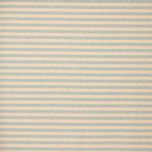 Ecru tricot met lichtblauwe glitter strepen