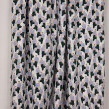 Ecru tricot met manfiguren van 'Milliblu's'