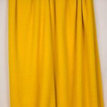 Geel geribde gebreide stof van 'Milliblu's'