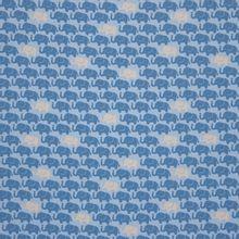 Lichtblauwe tricot met olifantjes