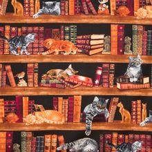 Boeken en katten katoen