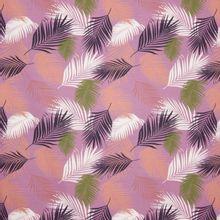 Paarse tricot met varens tropisch