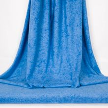 Blauwe badstof van Fibre Mood