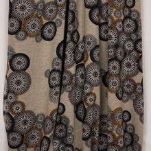 Tricot met abstract bloemen motief uit 'B- Trendy'
