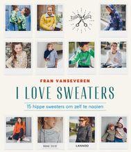 Frans Vanseveren- I Love Sweaters Paperback