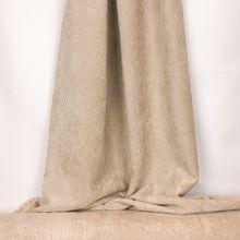 Beige viscose - polyester ribfluweel uit 'My Image'