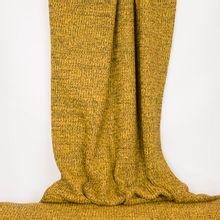 Gele gebreide stof uit katoen / polyestermengeling 'B- Trendy'