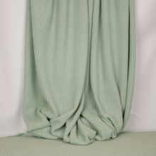 Muntkleurige gebreide stof in katoen / polyestermengeling
