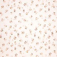 French terry wit met bordeaux roze kersen van Family Fabrics