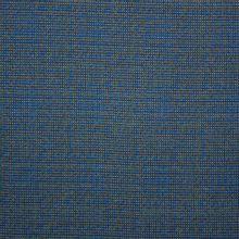 Blauw/groen gespikkelde tricot in viscosemengeling van La Maison Victor