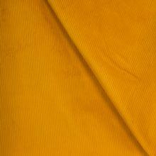 Gele ribfluweel
