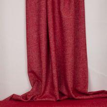 Zachte stof met rood/wit visgraatmotief van La Maison Victor