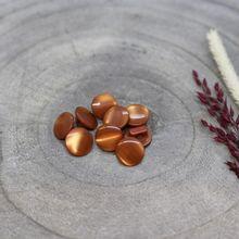 Knoopjes 10 mm 'Swing Chestnut' van Atelier Brunette