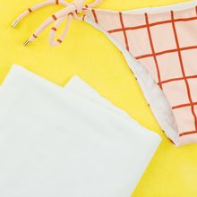 Bathing suit lining white polyester tricot van See You At Six