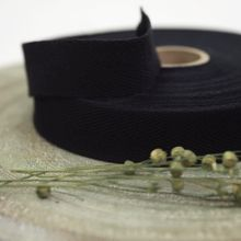 Zwarte Twill Tape See You at Six