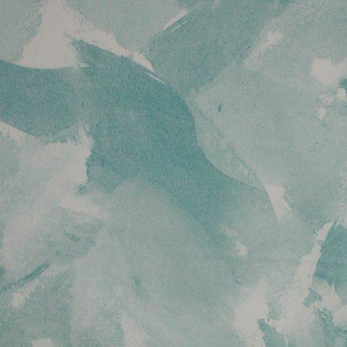 Stretch katoen met aquarel print