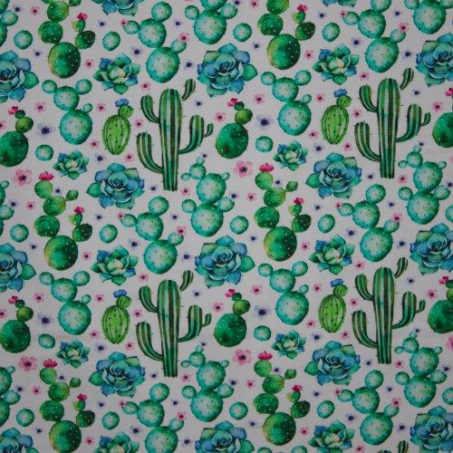tricot met cactusmotief