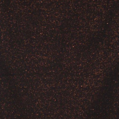 geribde boordstof zwart met koper glitter