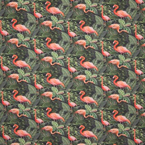 katoentricot Flamingo