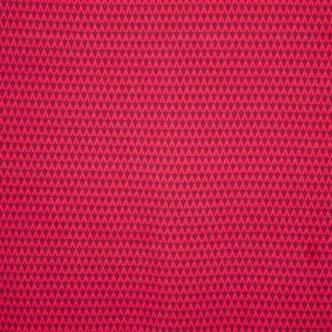 Jacquard Triangle Dark Red