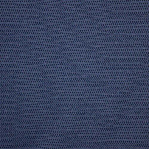 Jacquard Blauw zwart