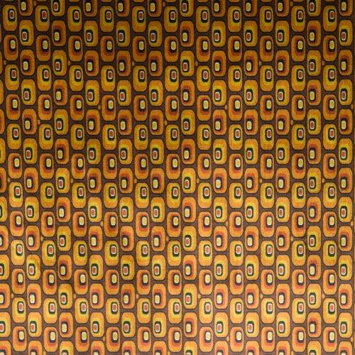 soepele stretchfluweel geel